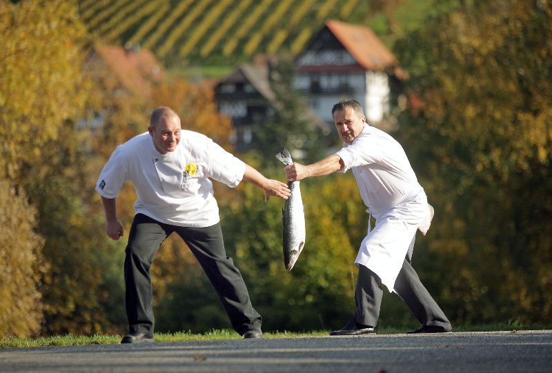 Dinner-Jumping in Sasbachwalden, Foto: Thomas Keller C/Dinner-Jumping-Wirte